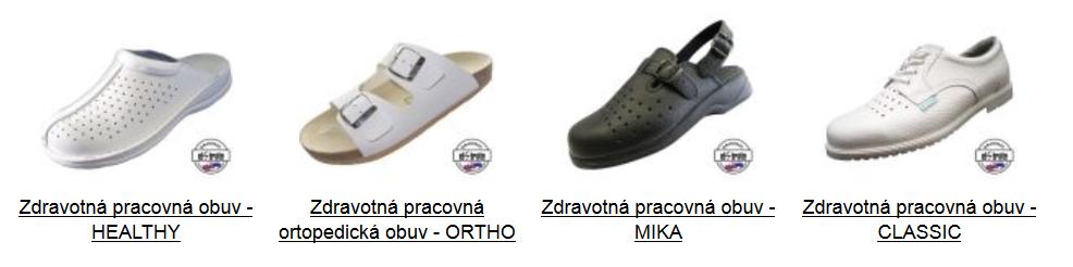 c266d6a55201d Zdravotnícke oblečenie a obuv / Zdravotnícka obuv